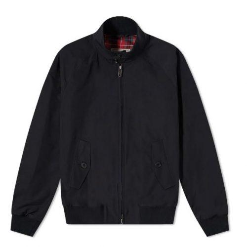 MensBaracuta G9 Original Harrington Jacket in Dark Navy