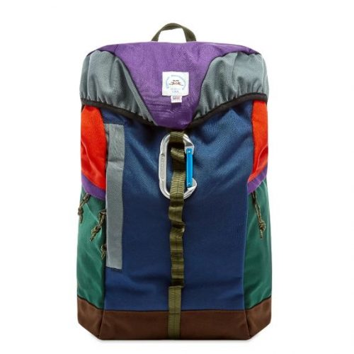 Mens Epperson Mountaineering Reflective Large Climb Pack Backpack in Iris & Midnight Blue