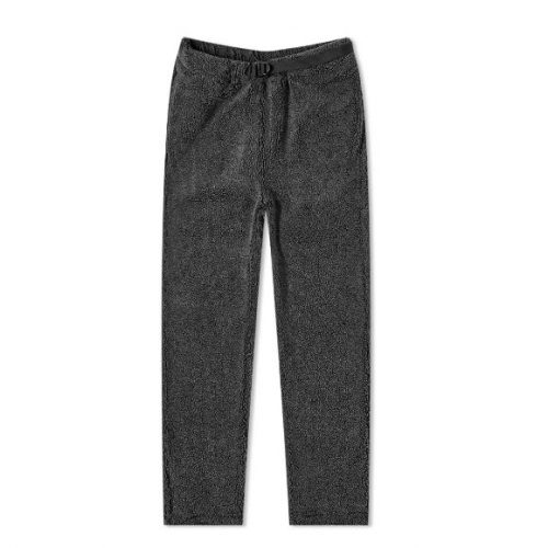 Mens orSlow New Yorker Fleece Pant in Charcoal Grey