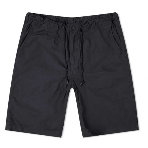 Mens orSlow New Yorker Shorts in Charcoal Grey
