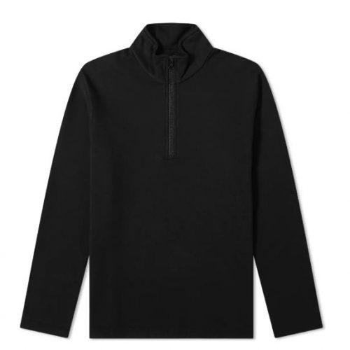 MensReigning Champ Half Zip Pullover Sweatshirt in Black