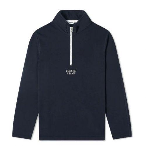MensReigning Champ Logo Half Zip Sweatshirt in Navy