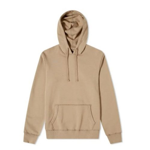 Mens Reigning Champ Popover Hoodie in Khaki
