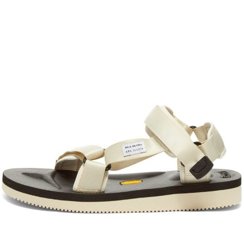 Mens A.P.C. x Suicoke Depa-V2 Sandals in Ecru