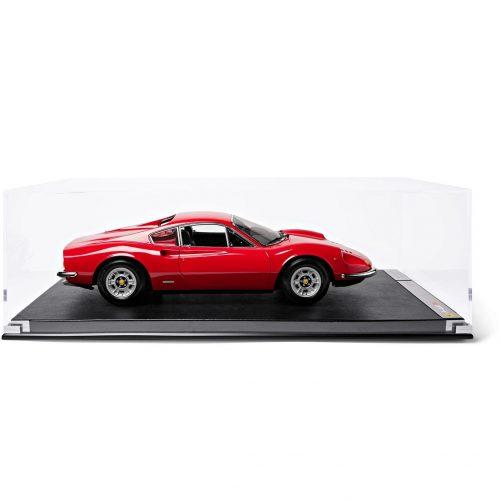 Mens Amalgam Collection Ferrari Dino 246 GT (1969) 1:8 Model Car in Red