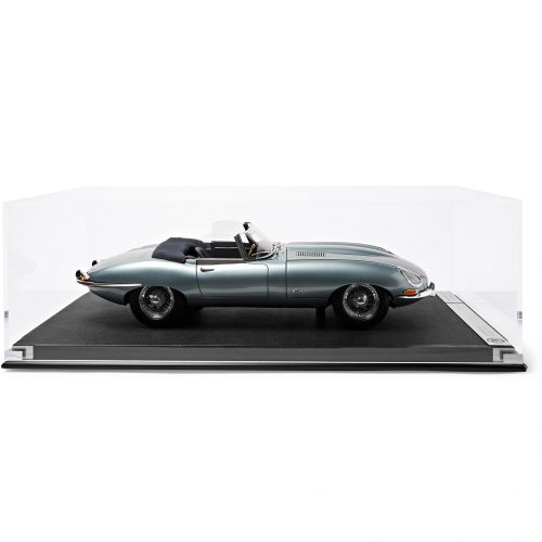 Mens Amalgam Collection Jaguar E-Type Roadster 1:8 Model Car in Blue