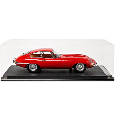 Mens Amalgam Collection Jaguar E-Type Series 1 1:8th Model Car in Red