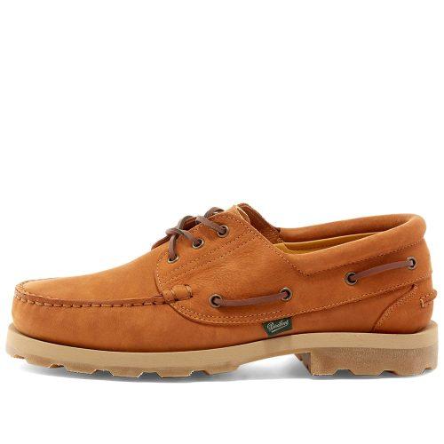 Mens Arpenteur x Paraboot Safari Shoe in Tan