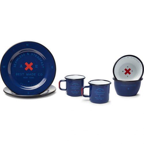MensBest Made Company Enamel Gift Set in Blue