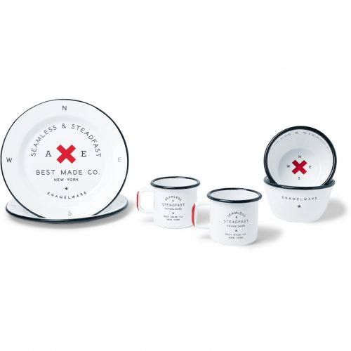 Mens Best Made Company Enamel Gift Set in White