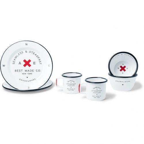 Mens Best Made Company Enamel Gift Set in White
