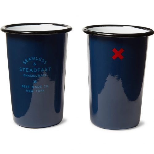 Mens Best Made Company Seamless & Steadfast Enamel Tumbler Set in Blue