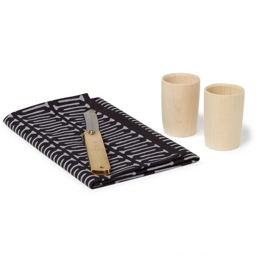 Mens Best Made Company The Japan Higo Knife, Cup and Tenugui Set in Multi
