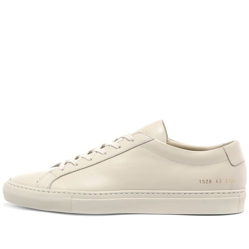 Mens Common Projects Original Achilles Low Sneakers in Old White