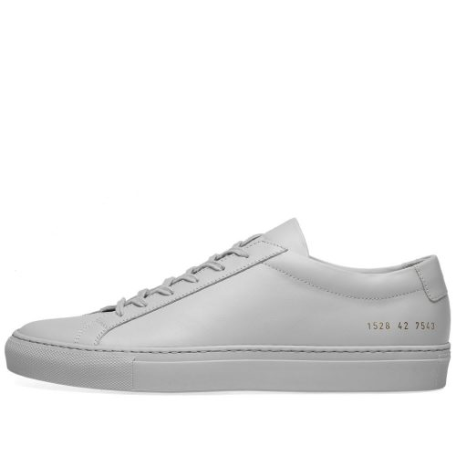 Mens Common Projects Original Achilles Low Sneakers in Grey