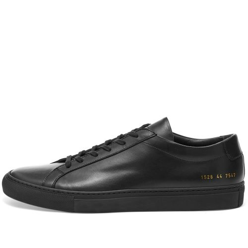 Mens Common Projects Original Achilles Low Sneakers in Black
