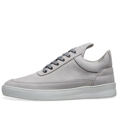 MensFilling Pieces Low Top Lane Sneakers in Grey