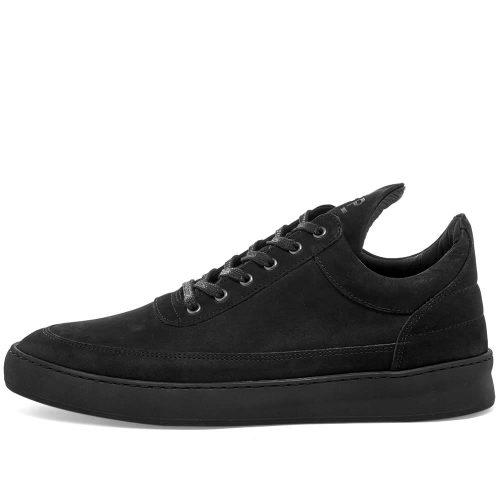 MensFilling Pieces Low Top Lane Sneakers in Black
