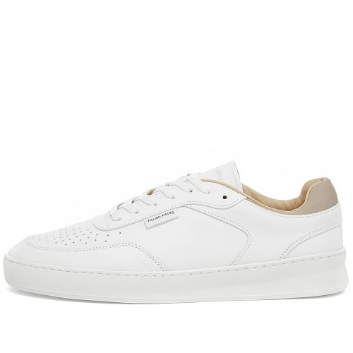 Mens Filling Pieces Spate Plain Phase Sneakers in White