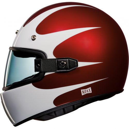 Mens Nexx X.G100 Southsider Motorcycle Helmet in Red