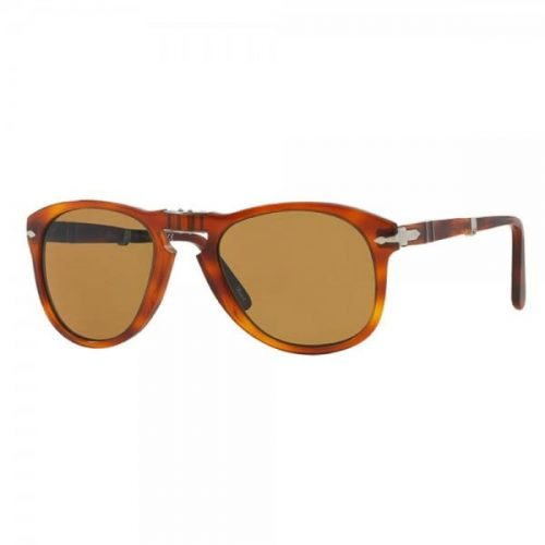 Mens Persol 714 Foldable Sunglasses in Terra di Sena