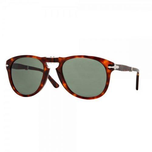 Mens Persol 714 Foldable Sunglasses in Havana Tortoise