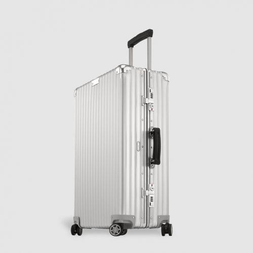 MensRimowa CLASSIC FLIGHT Medium Suitcase in Silver