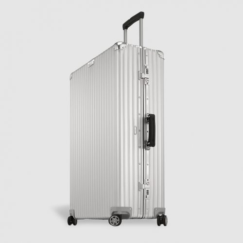 Mens Rimowa CLASSIC FLIGHT Large Suitcase in Silver
