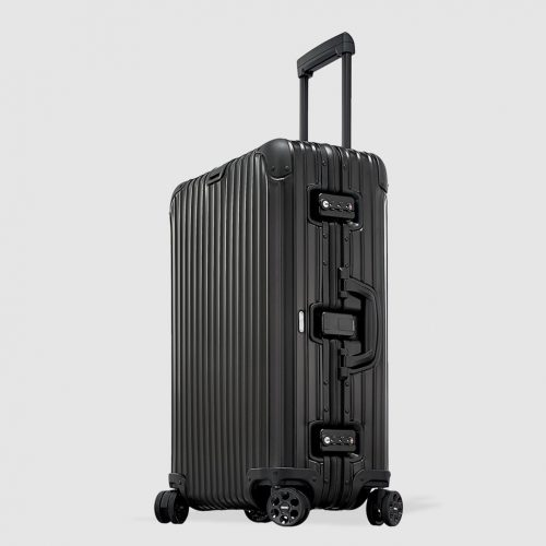 Mens Rimowa TOPAS STEALTH Suitcase in Black