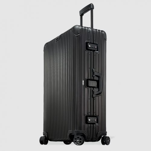 Mens Rimowa TOPAS STEALTH Large Suitcase in Black