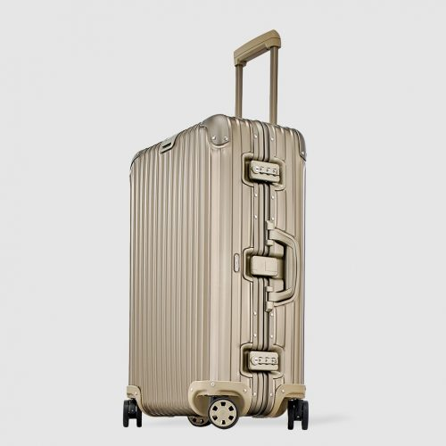 MensRimowaTOPAS TITANIUM Medium Suitcase in Gold