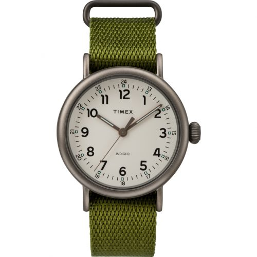 Mens Timex Standard Watch in White