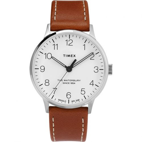 Mens Timex Waterbury Classic Watch in White
