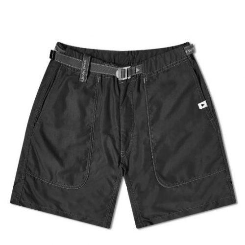 MensAnd Wander Nylon Climbing Shorts in Black