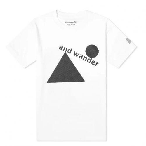 MensAnd Wander x Fumikazu Ohara Artwork T-Shirt in White