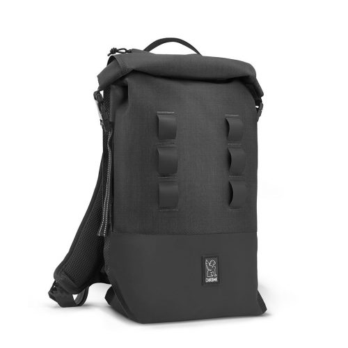 Mens Chrome Industries Urban Ex Rolltop 18L Backpack in Black