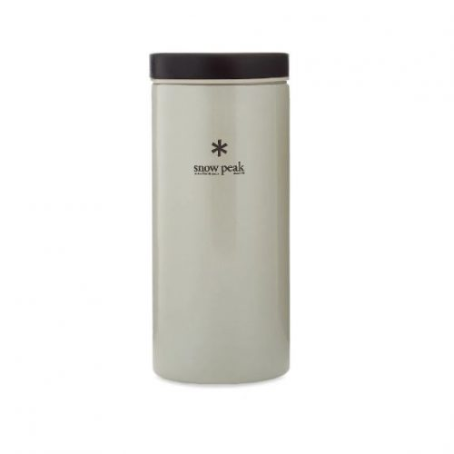 Mens Snow Peak Kanpai Flask 350ml in White