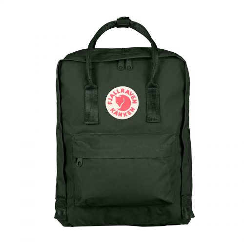 MensFjallraven Kanken Classic Backpack in Deep Forest