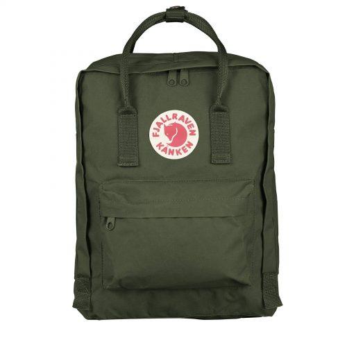 MensFjallraven Kanken Classic Backpack in Forest Green