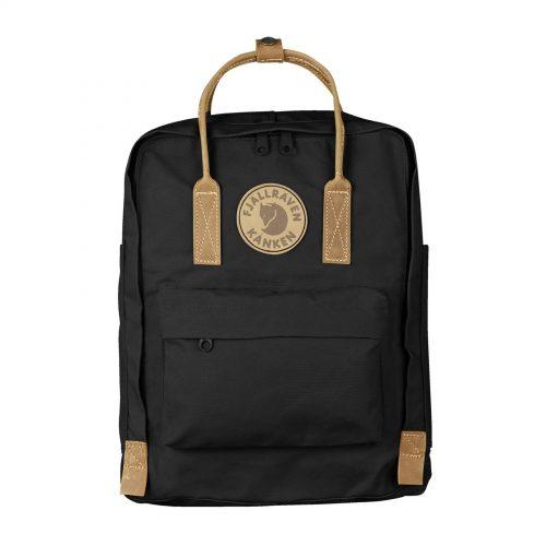 MensFjallraven Kanken No 2 Backpack in Black
