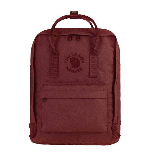 MensFjallraven Re Kanken Backpack in Ox Red