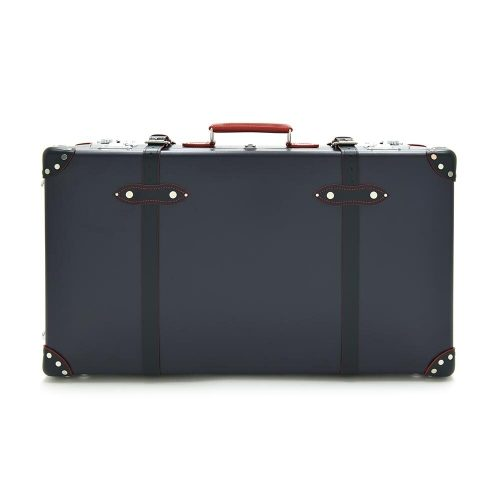 Mens Globe-Trotter 30 Inch Ed Suitcase in Blue