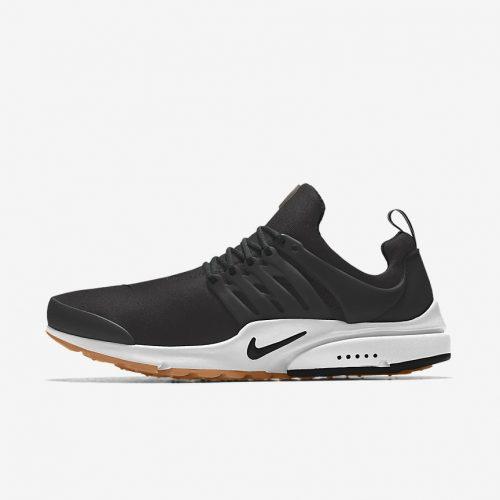 MensNike iD Air Presto Sneakers in Black Gum