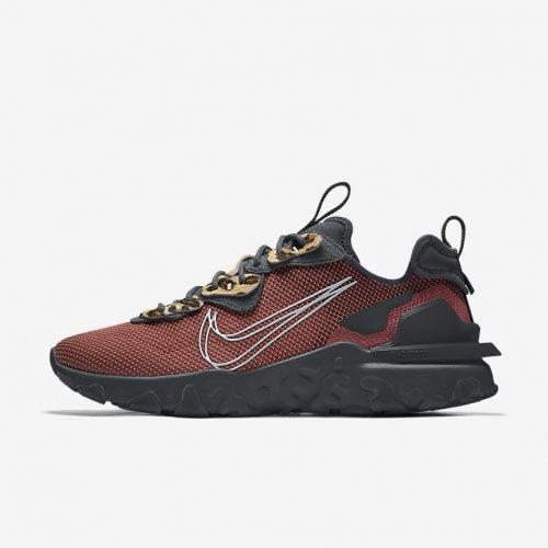 MensNike iD React Vision Sneakers in Brown Multi