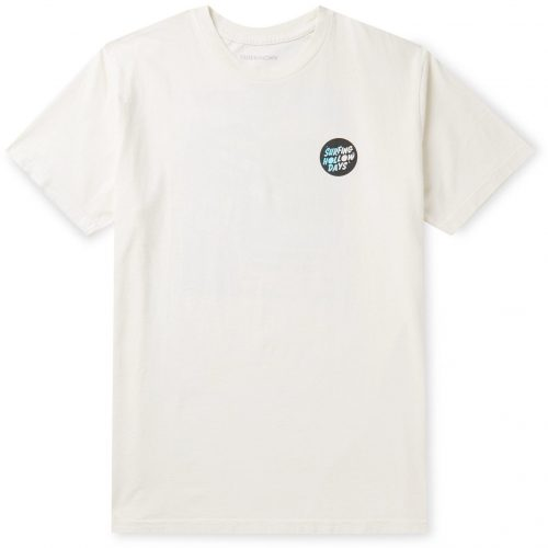 MensOuterknown Printed Organic Cotton-Jersey T-Shirt in Off White