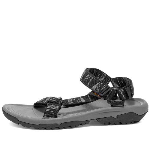 The Mens Teva Hurricane XLT2 Sandals in Black & Grey