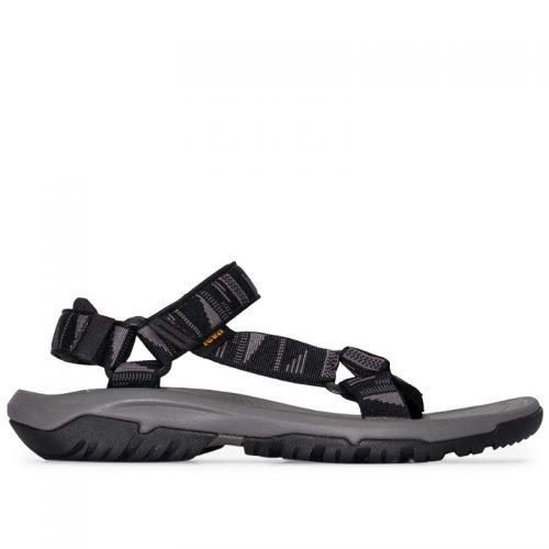 MensTeva Hurricane XLT2 Sandals In Black & Grey