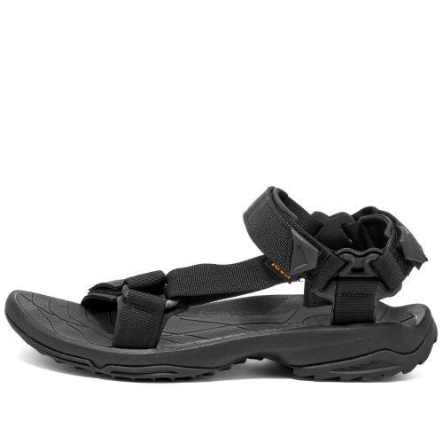Mens Teva Terra Fi Lite Sandals in Black