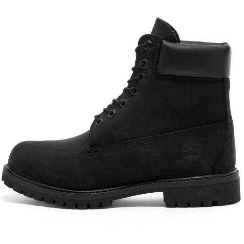 "MensTimberland 6"" Premium Boots in Black"