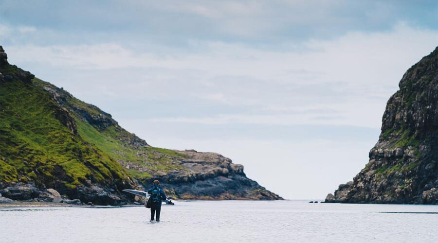 Surfing In The Faroe Islands Guide - Bentley Bentayga Faroes Surfing Coldwater Surfer | SEIKK Magazine